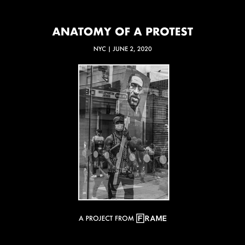 'Anatomy of a Protest - NYC / BLM' interactive documentary cover